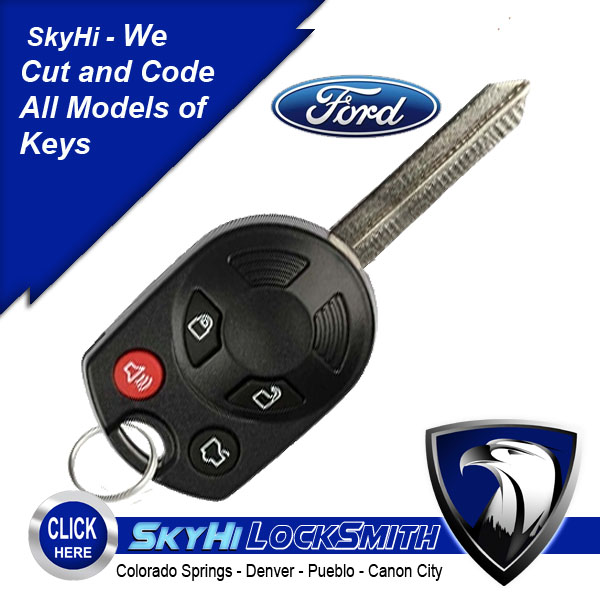 Ford Keys Remote Truck Release